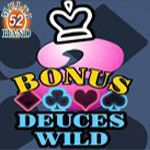 Bonus Deuces Wild (52 Hands)
